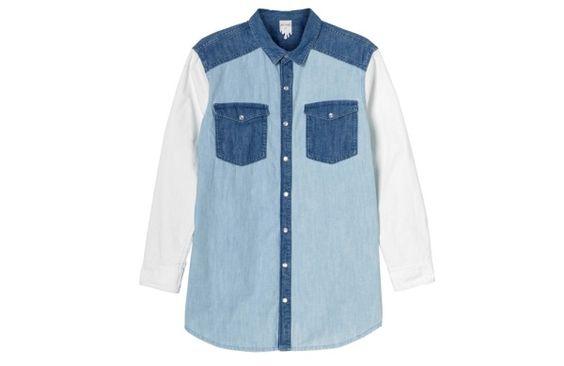 Denim shirt by Monki