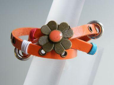 Clover Strap Bracelet