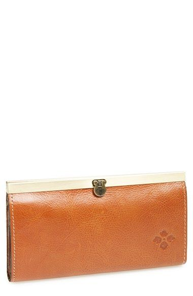 Patricia Nash 'Cauchy' Leather Wallet available at #Nordstrom
