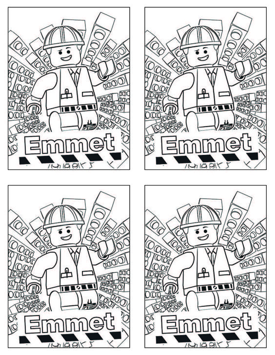 emmett coloring pages - photo#34