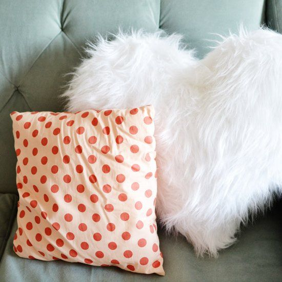 Home Is Where The Heart Is Valentine S Shaggy Chenille Heart Shaped Pillows Heart Pillows Valentines Pillows