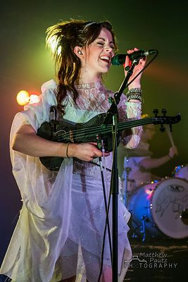 Lindsey Stirling...this girl is awesome...look up her videos!