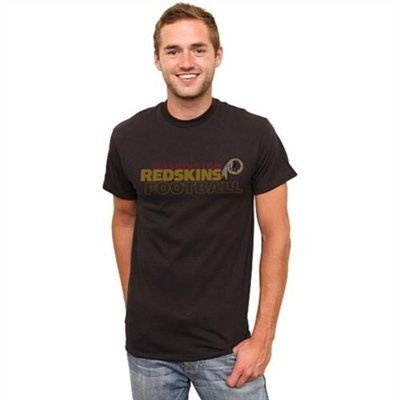 Washington Redskins Horizontal Text Alternate Color T-Shirt