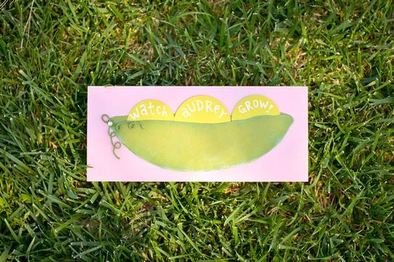 Hostess with the Mostess® - Watch Me Grow! peapod garden party: