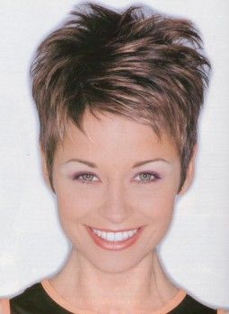 very+short+spiky+hairstyles+for+women | Short hairstyle with longer top hair and super short sides