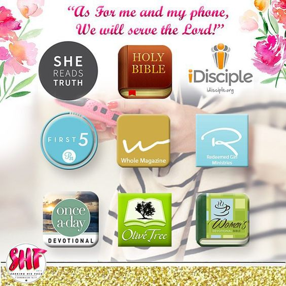 """As for me and my phone, we will serve the Lord! """" Here is a list of the best apps i've found for Christian women. They are available for both iphone & android users... Feel free to suggest your favourite apps down below #christian #christianapps #christianwoman #christiangirl #womenofGod #biblestudy #devotion #faith #Jesus #beauty #shesharestruth #shereadstruth #apps #sda #girl #gritandvirtue #church #seekinghisface"""
