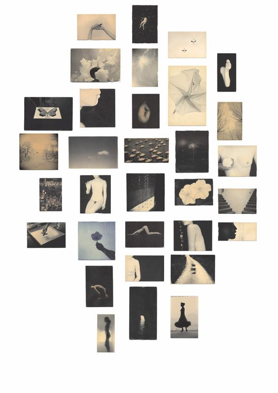 Masao Yamamoto carries his photographs around with him for weeks allowing them to become aged and so appear loved.