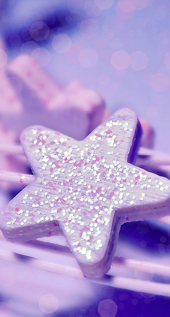 iPhone wallpapers, Wallpapers and Glitter stars on Pinterest
