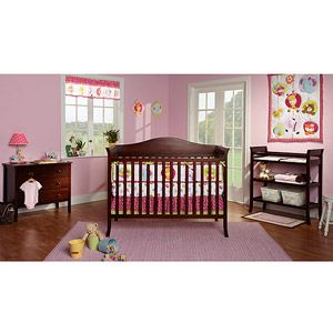 Baby Mod Bella Crib And 3 Drawer Dresser Set With Bonus Changing Table Espresso Tables