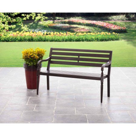 Better Homes and Gardens Gulley Lane Bench - Walmart.com