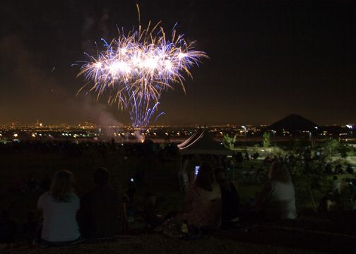 july 4th vegas 2012 fireworks