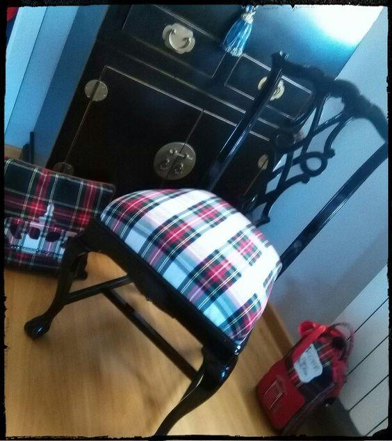 Me encanta como me quedo esta silla..