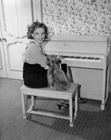 Judy Garland and Chou-Chou