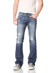 69% OFF Rockstar Mens Bootcut Jeans (Blue) | Mens jeans ...