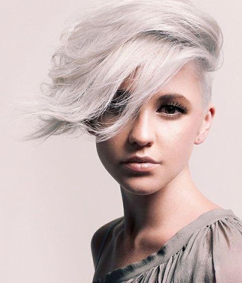 Strange Undercut Short Hairstyles For Girls And Shaved Hairstyles On Short Hairstyles For Black Women Fulllsitofus