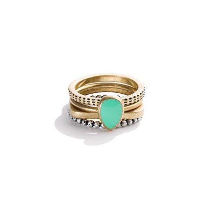 gypsystone ring set: Vintage Ring, Madewell Gypsystone, Jewelry Accessories, Madewell Ring, Ring Madewell, Women, Gypsystone Ring