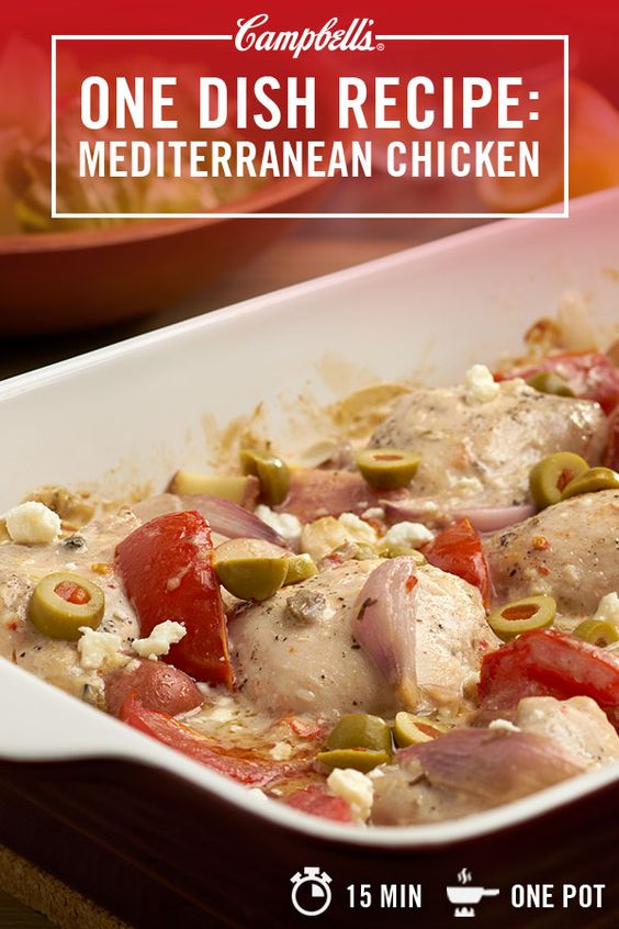 Mediterranean chicken penne pasta recipe