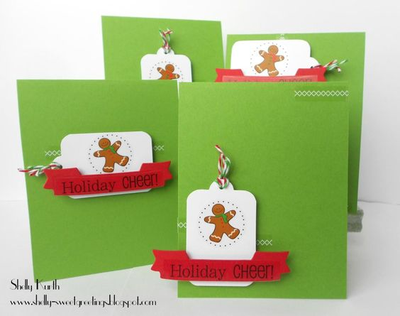SRM Stickers Christmas Card Set by Shelly #christmas #card #twine # ...