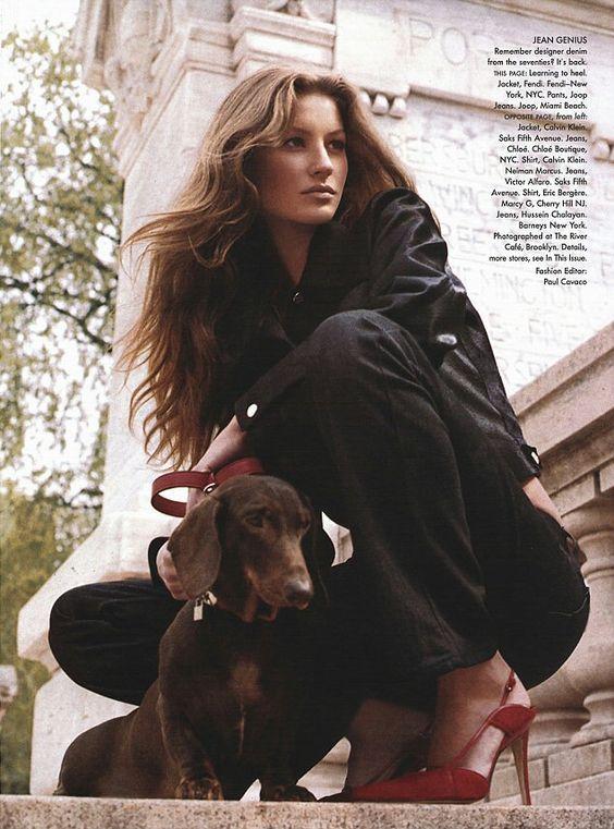 Gisele Bundchen Vogue 1999 by Steven Meisel