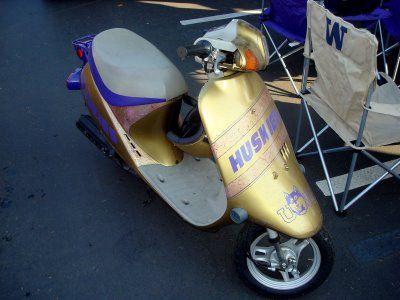 Ride around Husky style :)