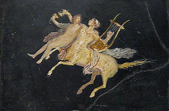 UNA CENTAURESA EN OURENSE ¡Que hermosas son las centauresas, aun solo considerando su parte equina: las unas han crecido como yeguas blancas, otras se han combinado con una yegua baya, o de pelaje …