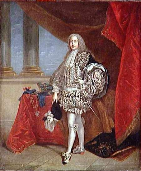 Portrait de Joachim François Bernard Potier, 2e duc de Gesvres