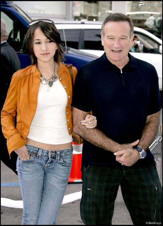 #RobinWilliams #ZeldaWilliams