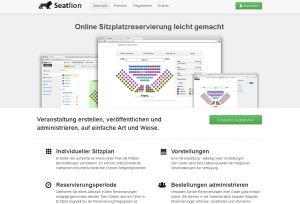Seatlion - Ticketing und Reservierungs-Software
