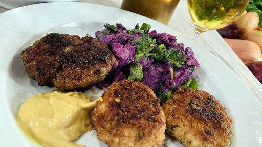 Unsere Lieblings Buletten Frikadellen In 2020 Kartoffelsalat Lebensmittel Essen Fleisch Gerichte