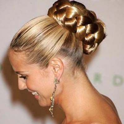 Pretty New Latest Bridal Wedding Hair Style Collection 2013 ...