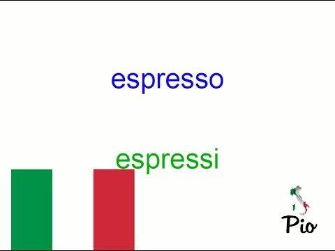 speisen auf italienisch aussprechen