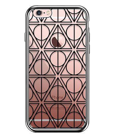 Look at this #zulilyfind! Black & Clear Deathly Hallows iPhone Case #zulilyfinds