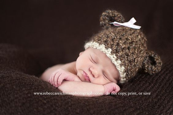 bear hat ....  too cute!!!