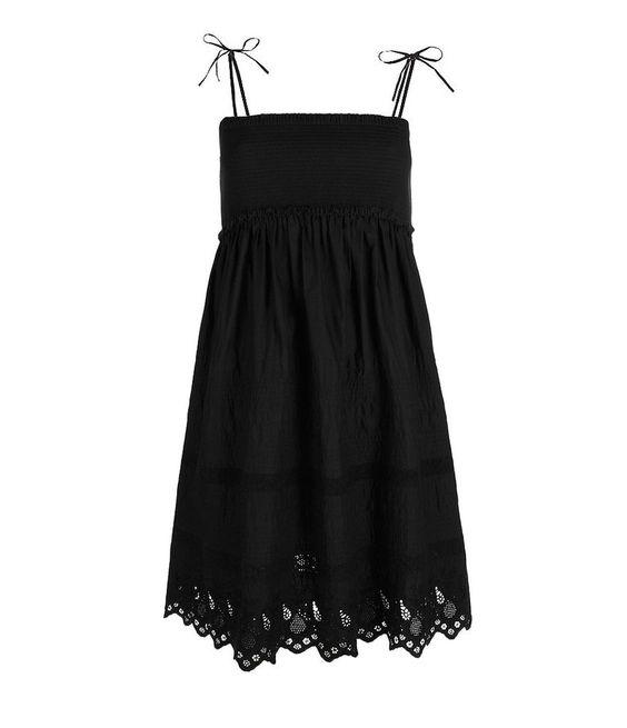 Lovely New All Saints PRAYER Black Cotton Dress UK 10 38 US 6 £95 ...