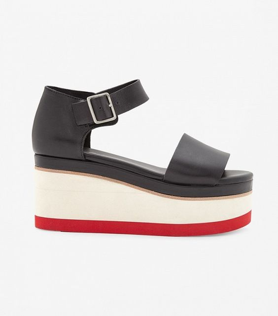 COS Contrast Wedge Shoes