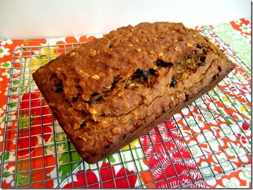 Banana Raisin Pumpkin Bread