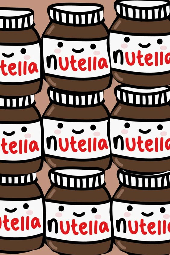Kawaii nutella, should have this as a wallpaper on my ...
