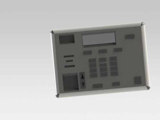 I made this in CAD.