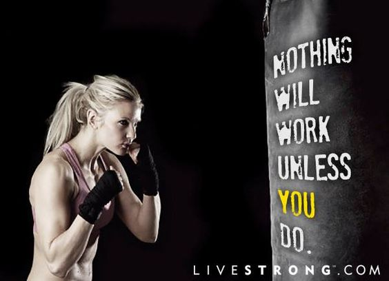 Nothing will work unless you do!