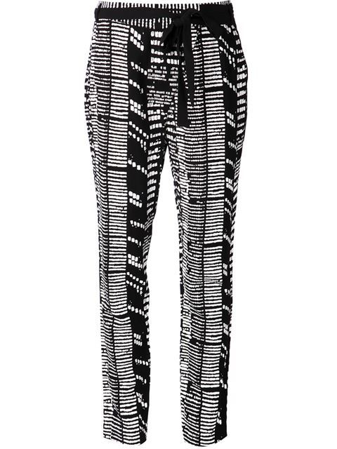 Shop Proenza Schouler printed trousers in Capitol from the world's best independent boutiques at farfetch.com. Shop 300 boutiques at one address.