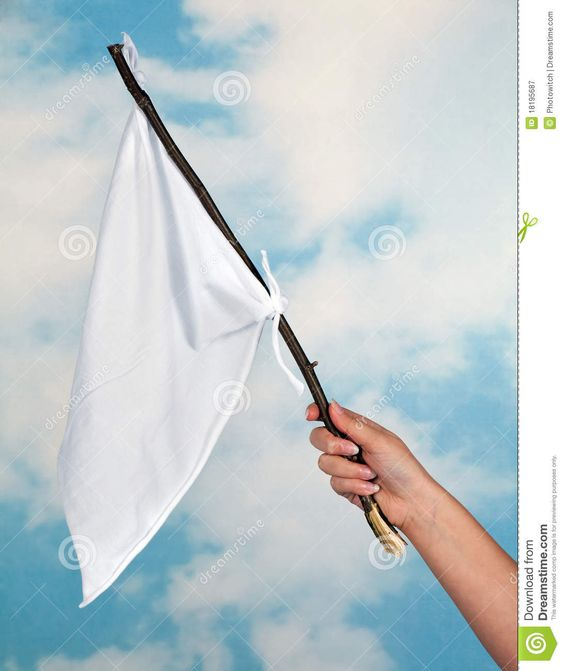 Bandeira de Paz para os animais.   acenando-uma-bandeira-branca-18195687.jpg (1092×1300)