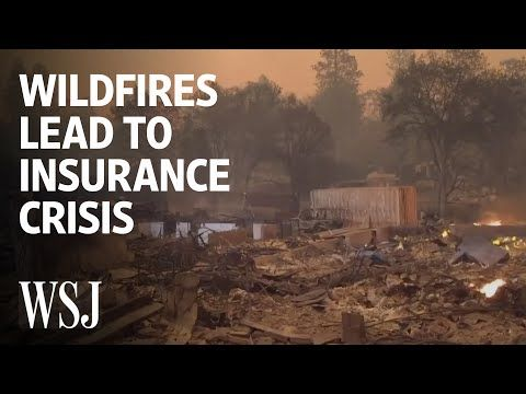 Why Wildfires Are Becoming An Insurance Nightmare Wsj Youtube