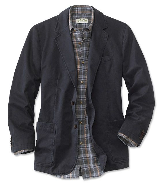 Just found this Casual Sport Coat - Washed Casual Sport Coat
