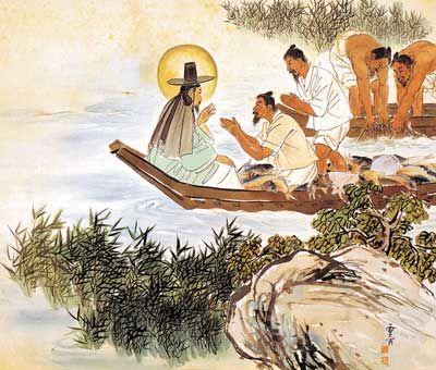 Αποτέλεσμα εικόνας για the calling of the first disciples