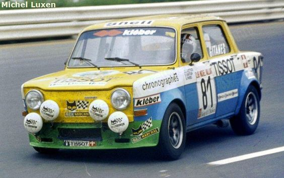etcc 1970 1988 photo gallery spa 24 hours 1975 simca 1000 racing sports cars. Black Bedroom Furniture Sets. Home Design Ideas