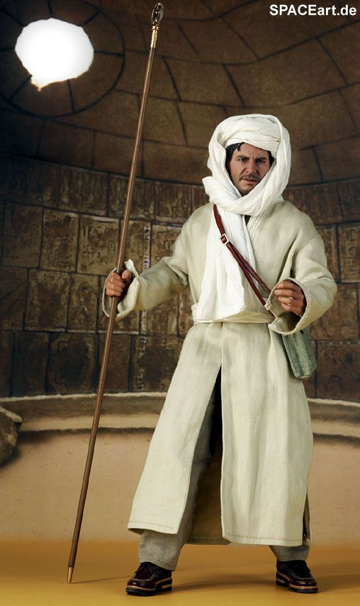 Indiana Jones: Indy (Harrison Ford) - Deluxe Figur, Fertig-Modell ... http://spaceart.de/produkte/idj008.php
