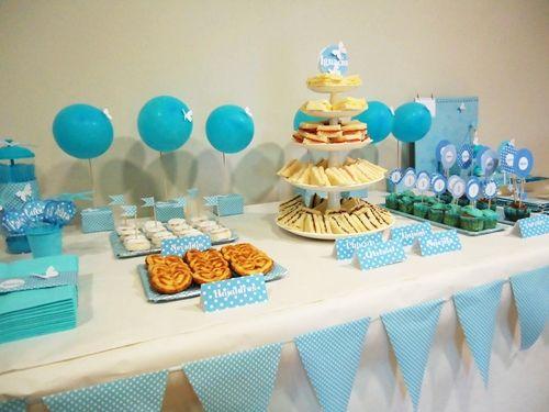 Primer cumple de ignacio en azul 1 a o pinterest - Decoracion cumpleanos bebe 1 ano ...