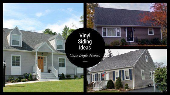 Vinyl Siding Ideas On Cape Cod Style Homes In Southeastern Ma And Ri Contractor Cape Cod Ma Ri Cape Cod Style House Vinyl Siding Cape Cod Style