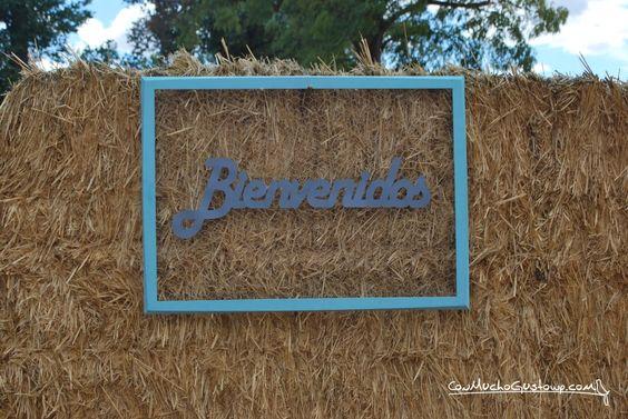 Cartel de Bienvenida Boda: