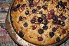 Pastel de Mora Azul y Almendras, receta sana, receta saludable, receta de pastel, receta de desayuno